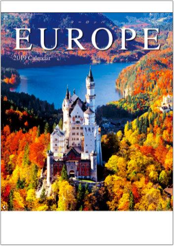 ヨーロッパ 2019年カレンダー