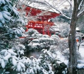 画像:12月 上賀茂神社(京都) 日本の美 2020年カレンダー