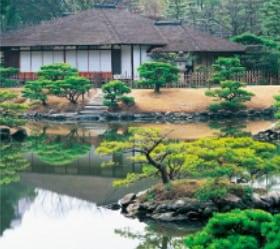 画像:1月 縮景園(広島) 日本の美 2020年カレンダー