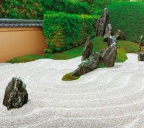 画像:8月 瑞峯院(京都) 日本の美 2020年カレンダー