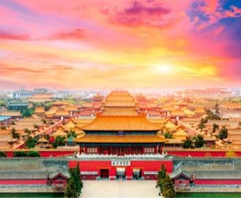 画像:11-12月 紫禁城(中国) 世界の名城巡り 2020年カレンダー
