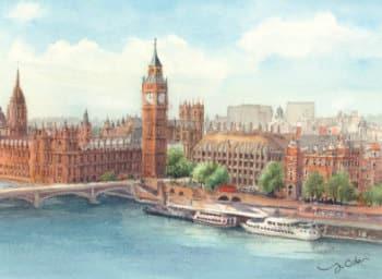 画像:5-6月 ロンドン ヨーロッパ散歩道 2020年カレンダー