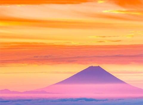 画像:1月 雲海に浮かぶ富士 SORA - 空 -  2020年カレンダー