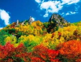 画像:10月 層雲峡(北海道) ザ・日本 2020年カレンダー