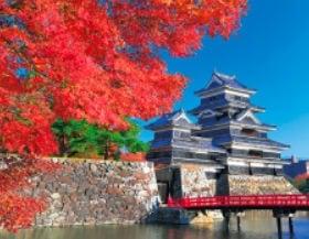 画像:11月 松本城(長野) ザ・日本 2020年カレンダー