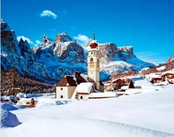画像:1-2月 イタリア ヨーロッパ 2020年カレンダー