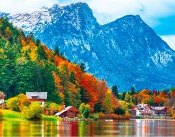 画像:9-10月 オーストリア ヨーロッパ 2020年カレンダー