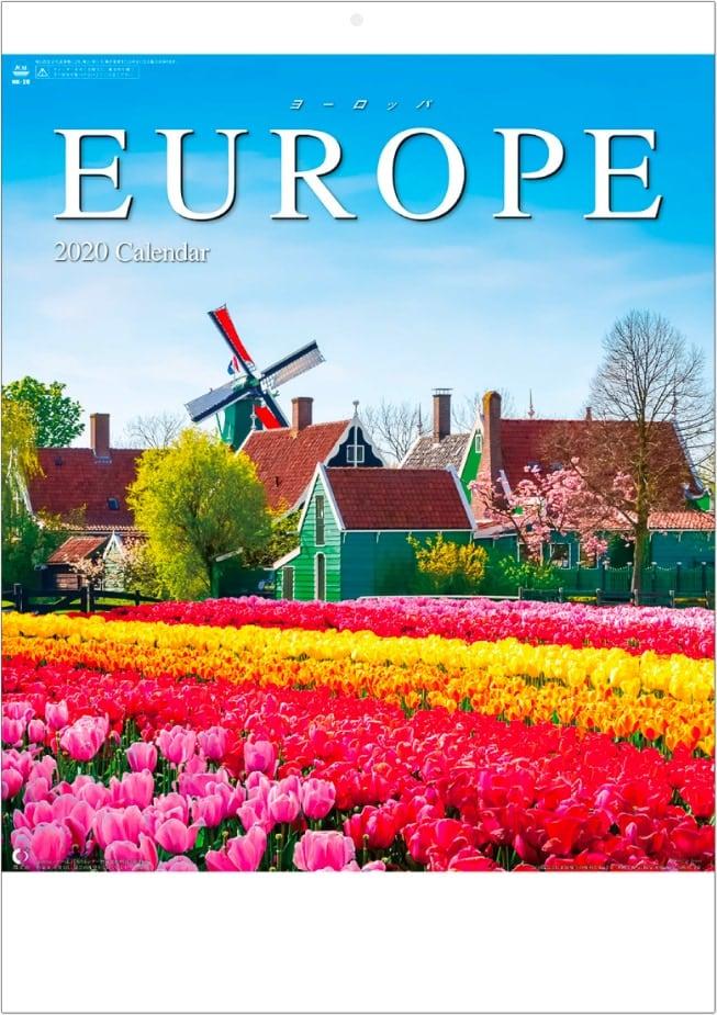 ヨーロッパ 2020年カレンダー