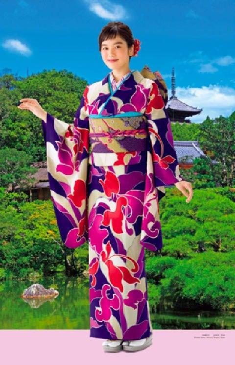 画像:5-6月 筧美和子 仁和寺(京都) 女優・すがた 2020年カレンダー