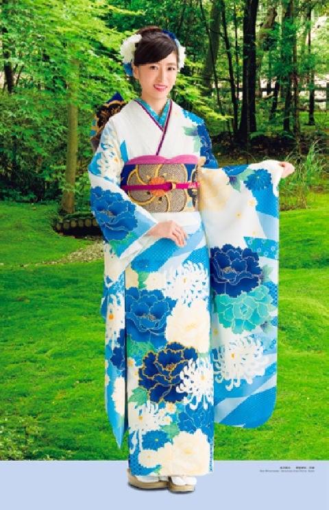 画像:7-8月 南沢奈央 野宮神社(京都) 女優・すがた 2020年カレンダー