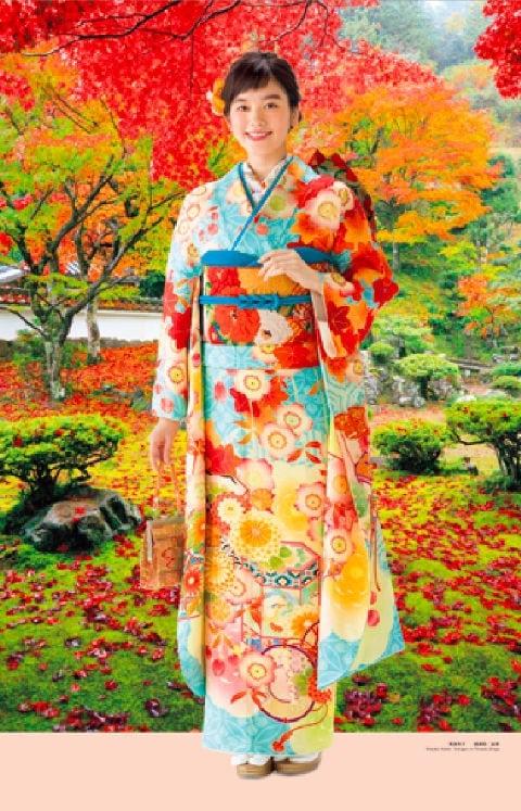 画像:9-10月 筧美和子 徳源院(滋賀) 女優・すがた 2020年カレンダー