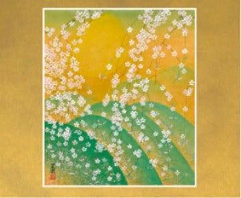 画像:3-4月 遠山桜 花鳥諷詠 -石踊達哉-2020年カレンダー