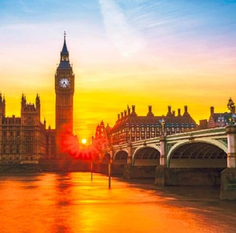 画像:11-12月 ロンドン(イギリス) ワイドヨーロッパ(フィルムカレンダー) 2020年カレンダー