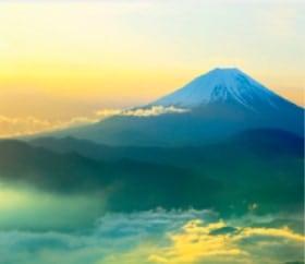 画像:1-2月 櫛形山林道より富士山(山梨) 日本の詩情(フィルムカレンダー・小) 2020年カレンダー