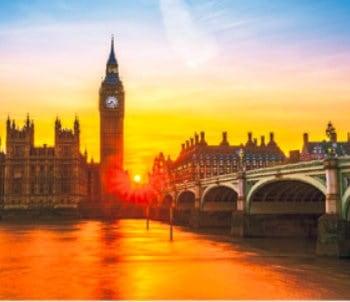 画像:11-12月 ロンドン(イギリス) 世界の名勝(フィルムカレンダー・小) 2020年カレンダー