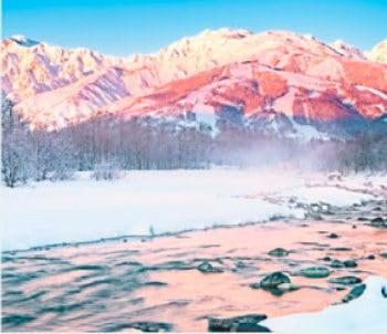 画像:11-12月 松川(長野) せせらぎの詩(フィルムカレンダー・小) 2020年カレンダー