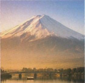 画像:1-2月写真 河口湖大橋と富士山(山梨) 富士山(フィルムカレンダー) 2020年カレンダー