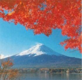 画像:9-10月写真 河口湖と富士山(山梨) 富士山(フィルムカレンダー) 2020年カレンダー