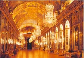 画像:10月 ヴェルサイユの宮殿と庭園(フランス) 魅惑の世界遺産 2020年カレンダー