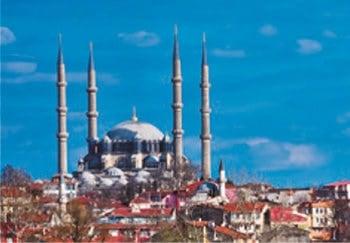 画像:2月 セリミエ・モスクと複合施設群(トルコ) 魅惑の世界遺産 2020年カレンダー