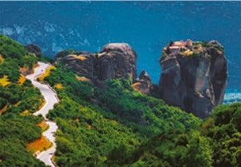 画像:5月 メテオラ(ギリシャ) 魅惑の世界遺産 2020年カレンダー