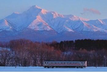 画像:1-2月 釧路本線(網走~東釧路) 北海道 ローカル線紀行 2020年カレンダー
