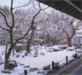 画像:12月 圓光次(京都) 庭の詩情 2020年カレンダー