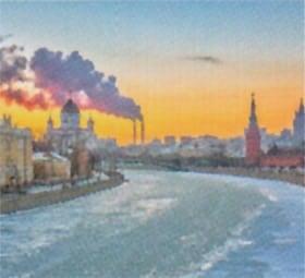 画像:12月 モスクワ(ロシア) ファンタジーワールド(A) 2020年カレンダー