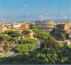 画像:6月 ローマ(イタリア) ファンタジーワールド(A) 2020年カレンダー