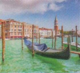 画像:7月 ヴェネツィア(イタリア) ファンタジーワールド(A) 2020年カレンダー