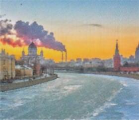 画像:12月 モスクワ(ロシア) ファンタジーワールド(B) 2020年カレンダー