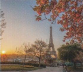 画像:4月 パリ(フランス) ファンタジーワールド(B) 2020年カレンダー