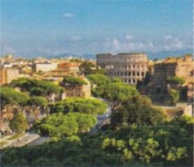 画像:6月 ローマ(イタリア) ファンタジーワールド(B) 2020年カレンダー
