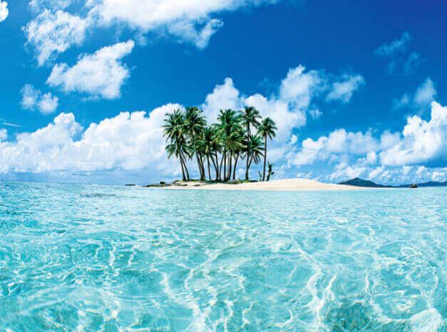 1-2月 MICRONESIA パラダイス 2022年カレンダーの画像
