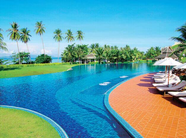 7-8月 THAILAND パラダイス 2022年カレンダーの画像