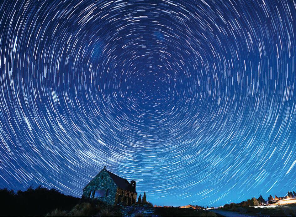 12月 夜空一面の星空 SORA -空- 2022年カレンダーの画像