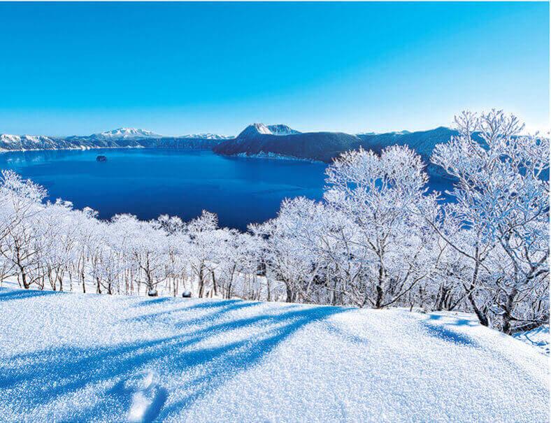 12月 摩周湖(北海道) ザ・日本 2022年カレンダーの画像