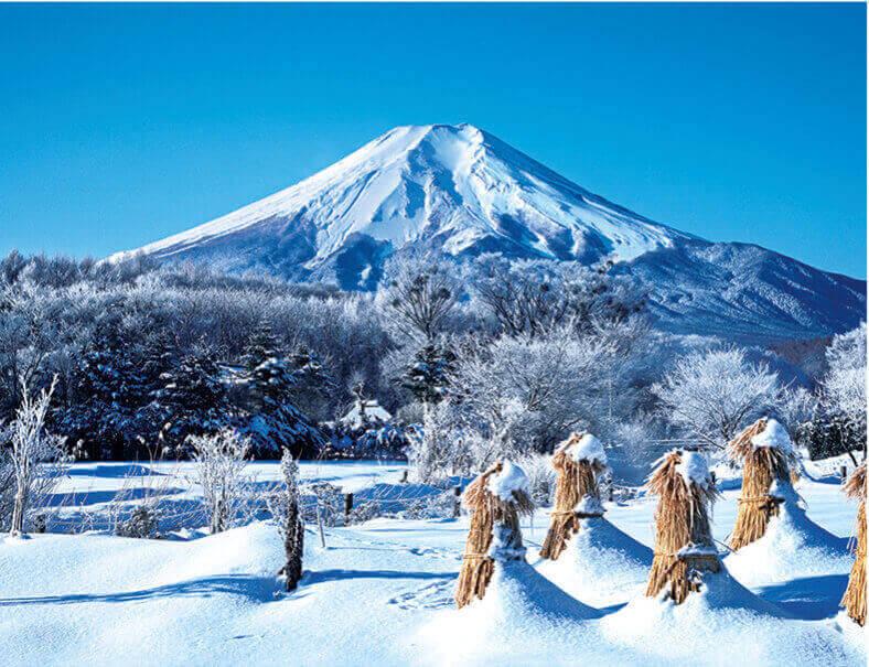 1月 富士山(山梨) ザ・日本 2022年カレンダーの画像