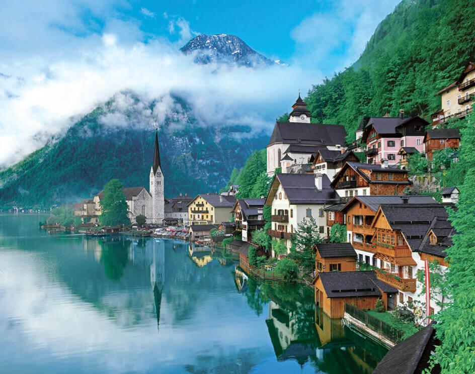 5-6月 オーストリア ヨーロッパ 2022年カレンダーの画像