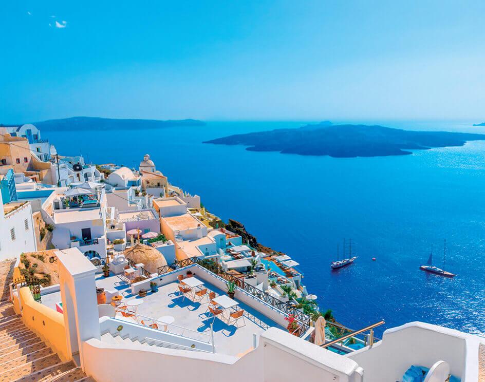 7-8月 ギリシャ ヨーロッパ 2022年カレンダーの画像