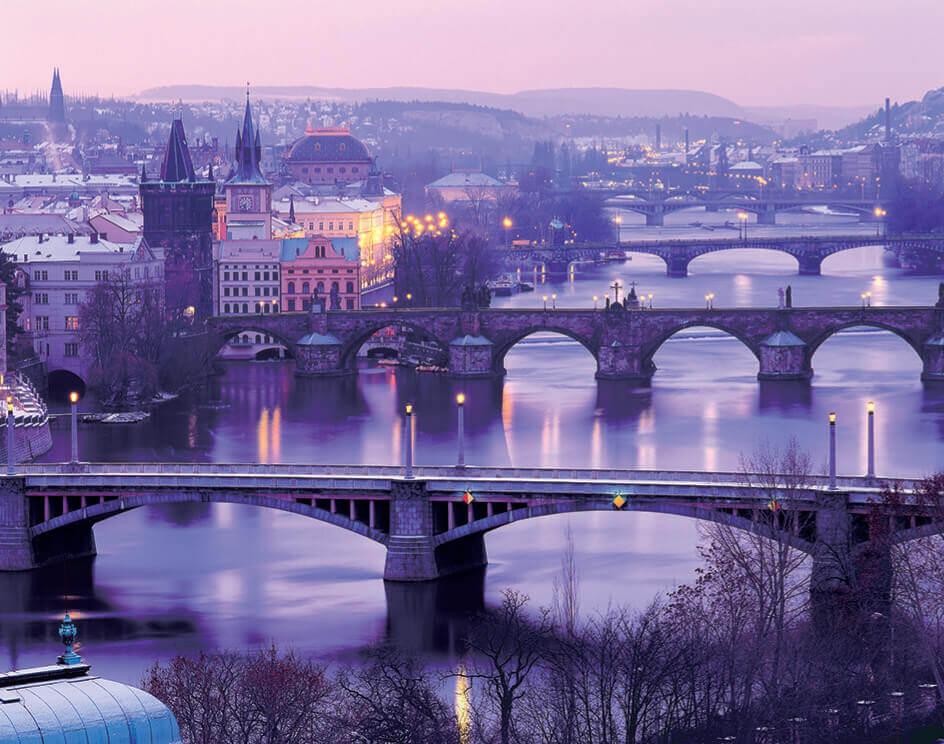 11-12月 チェコ ヨーロッパ 2022年カレンダーの画像